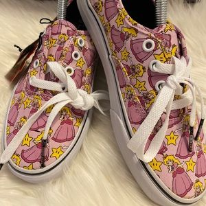Vans Nintendo Princess Peach Sneakers